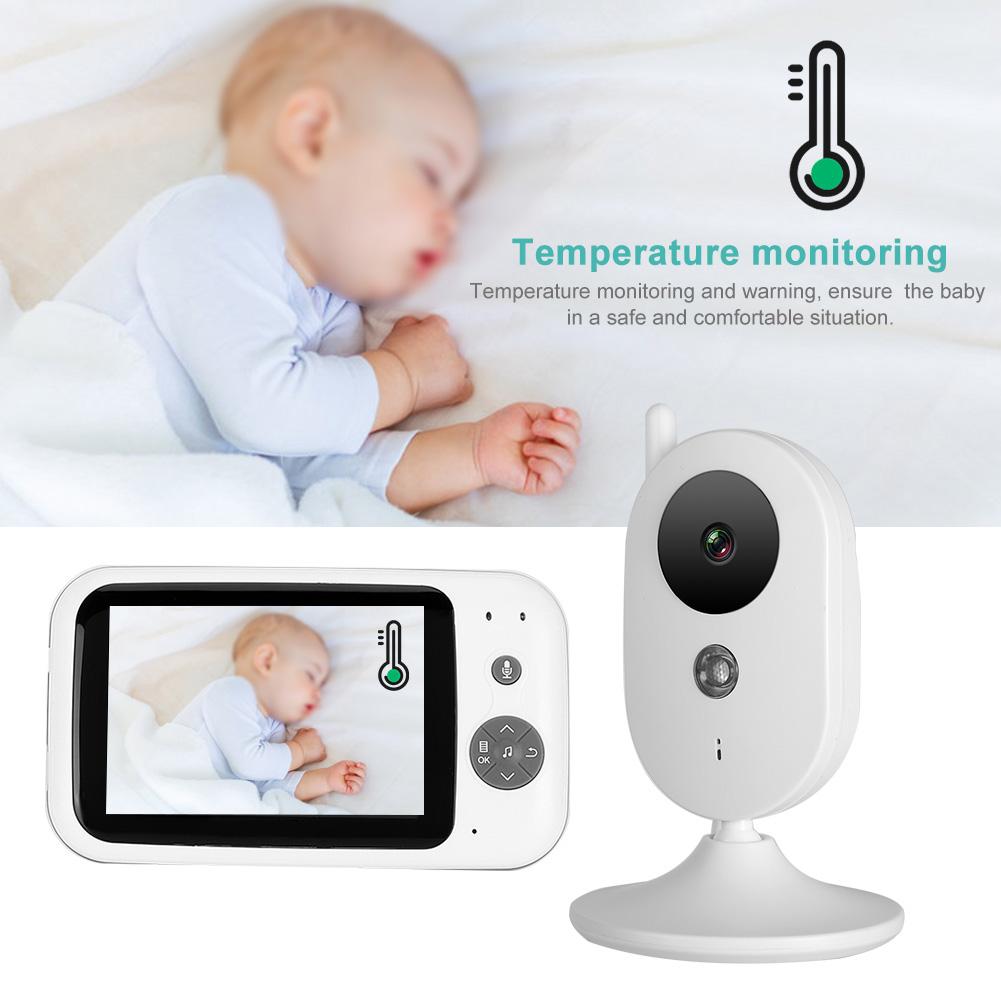 3-2-034-LCD-Wireless-2-4GHZ-2-Way-Audio-Intercom-Baby-Monitor-IR-Night-View-100-240V thumbnail 20