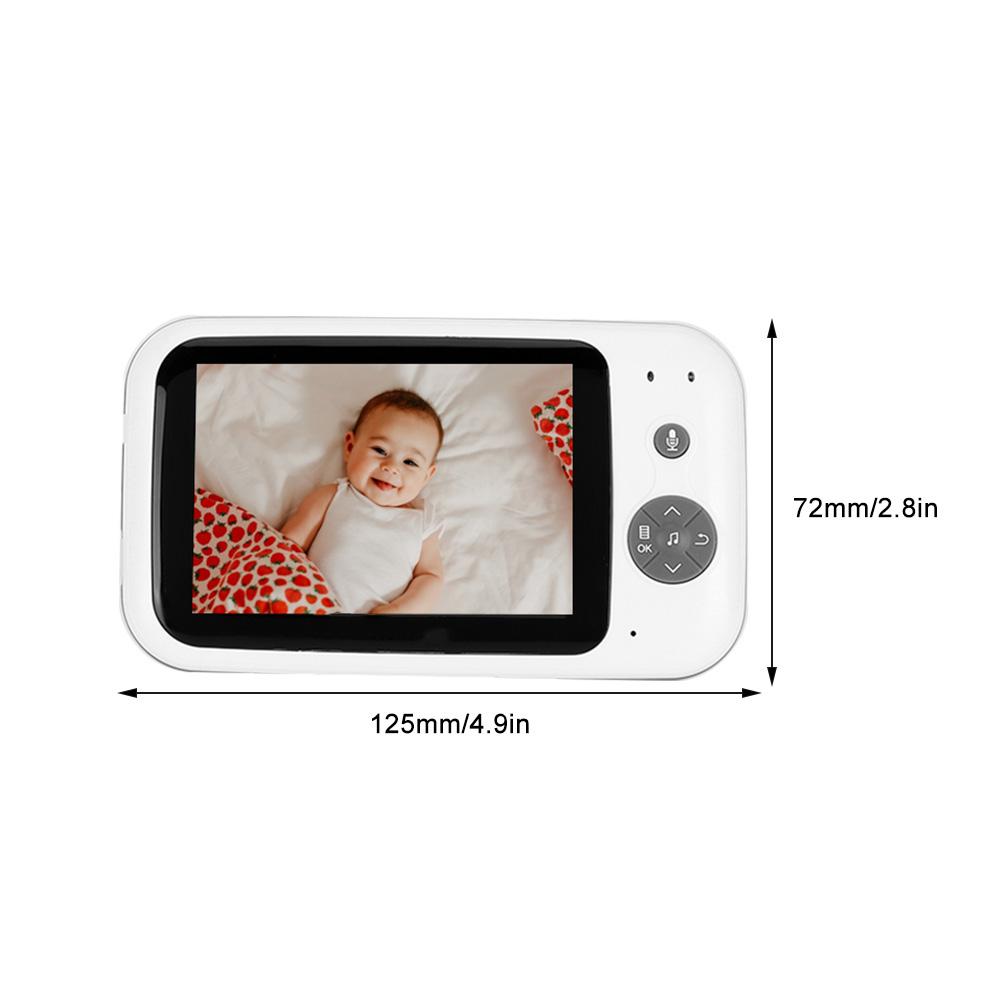 3-2-034-LCD-Wireless-2-4GHZ-2-Way-Audio-Intercom-Baby-Monitor-IR-Night-View-100-240V thumbnail 36