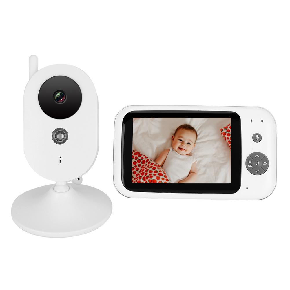 3-2-034-LCD-Wireless-2-4GHZ-2-Way-Audio-Intercom-Baby-Monitor-IR-Night-View-100-240V thumbnail 27