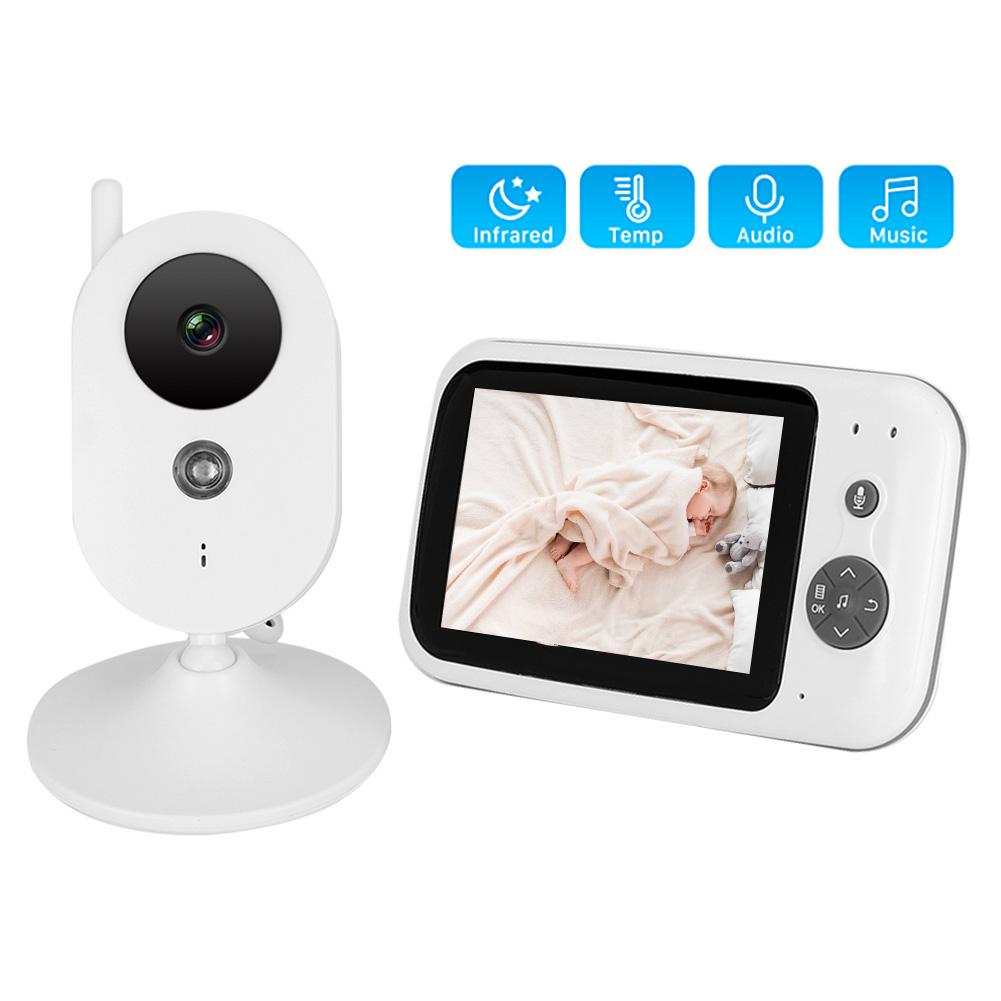 3-2-034-LCD-Wireless-2-4GHZ-2-Way-Audio-Intercom-Baby-Monitor-IR-Night-View-100-240V thumbnail 40