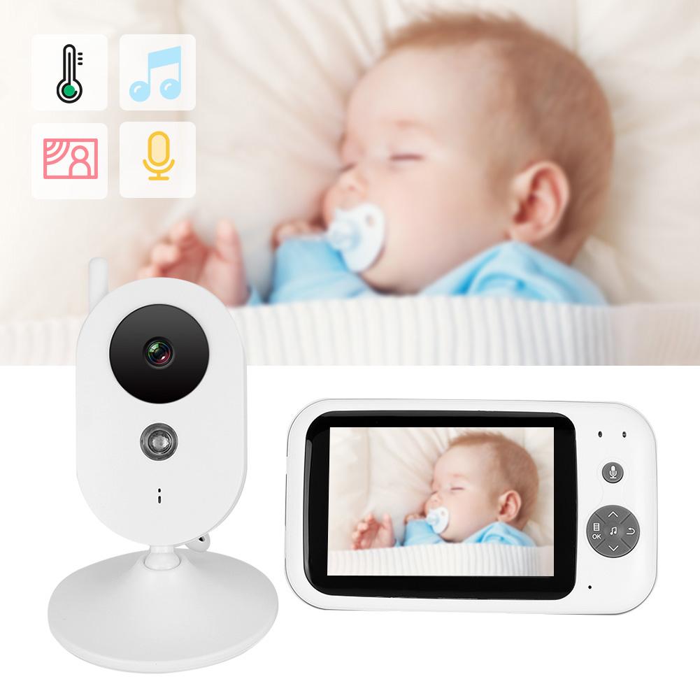 3-2-034-LCD-Wireless-2-4GHZ-2-Way-Audio-Intercom-Baby-Monitor-IR-Night-View-100-240V thumbnail 42