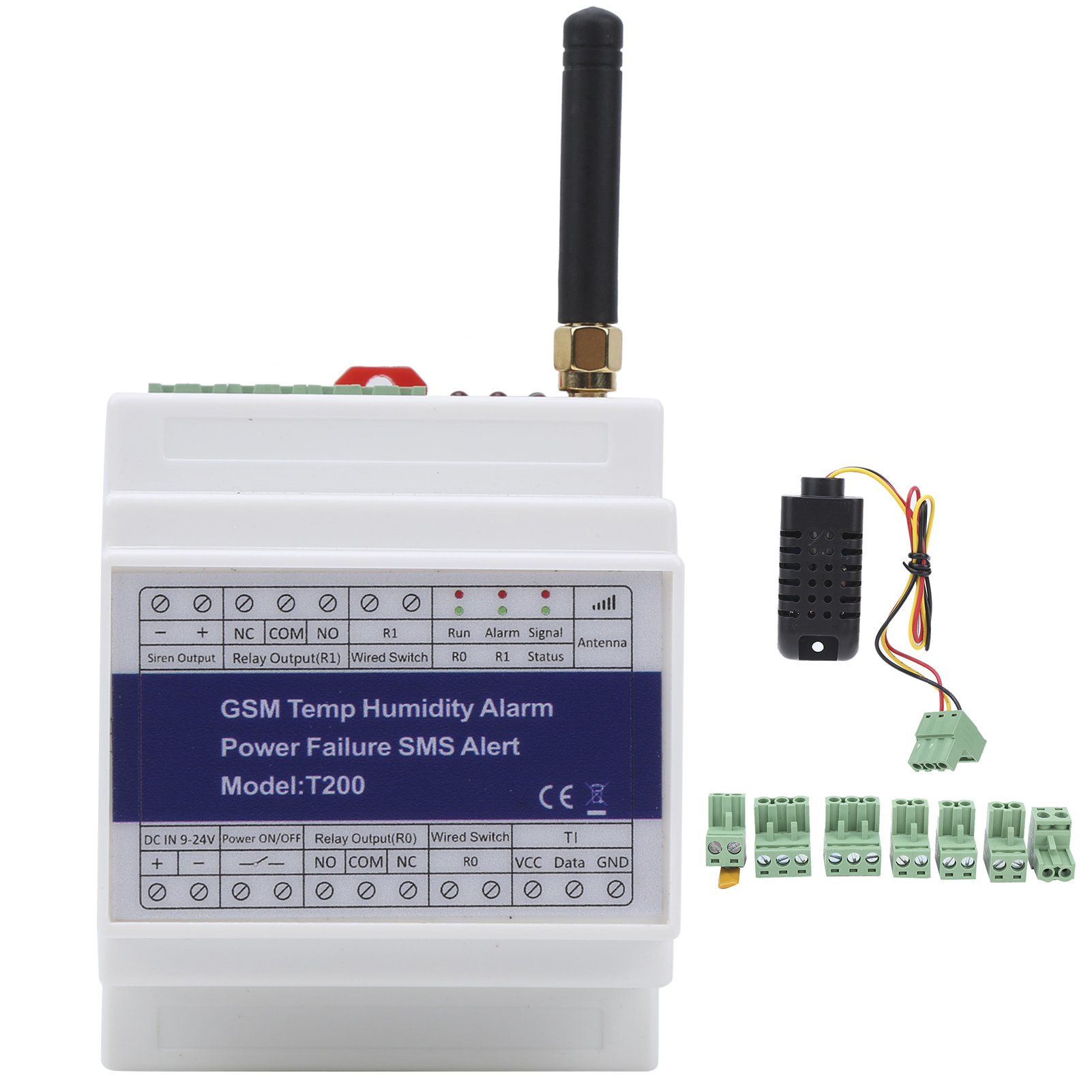 T200//T201 GSM Portable Smart Remote Power Failure Alert SMS Call Alarm Security