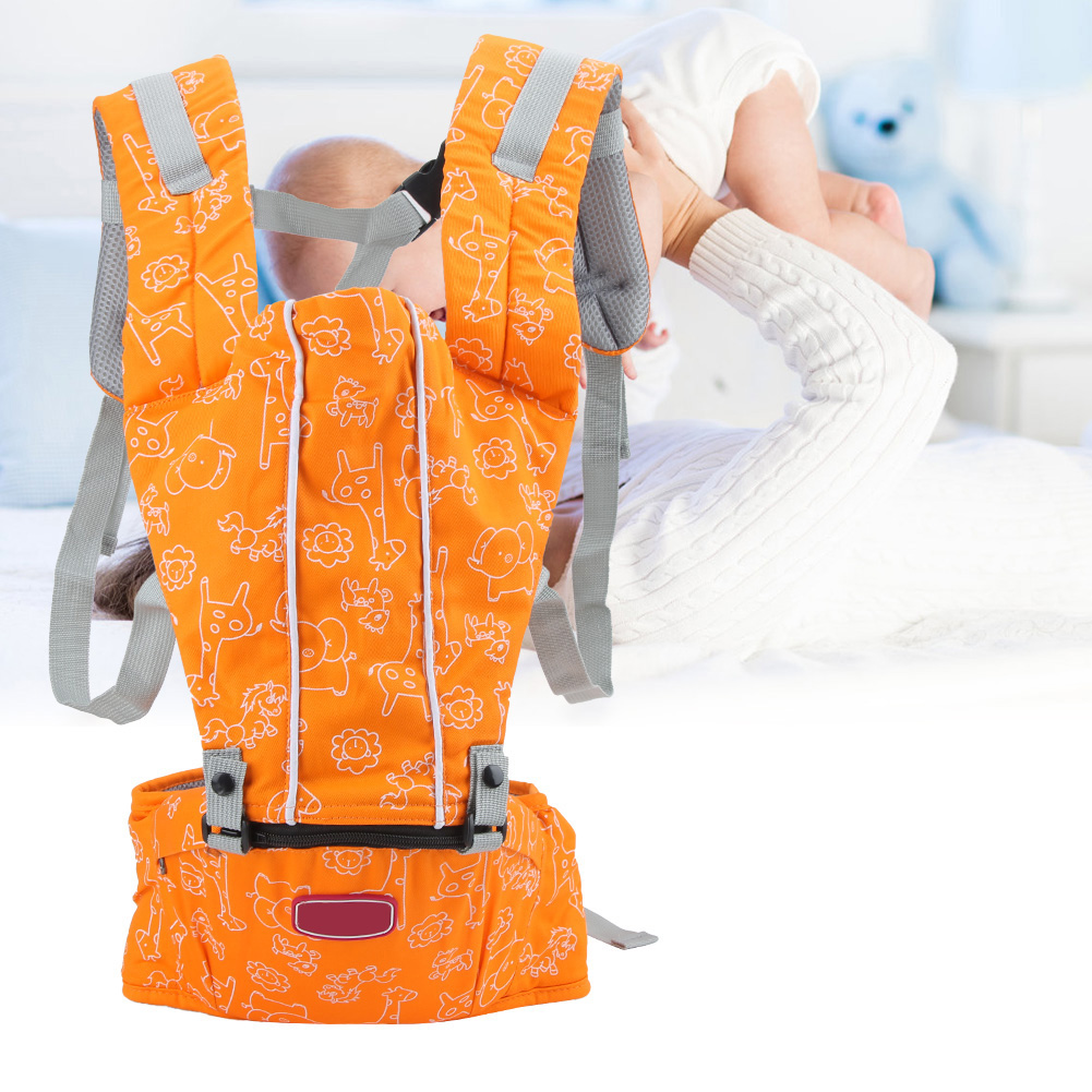 3-In-1-Baby-Safe-Hipseat-Kids-Safety-Carrier-Wrap-Infant-Sling-Backpack-3-Month thumbnail 15