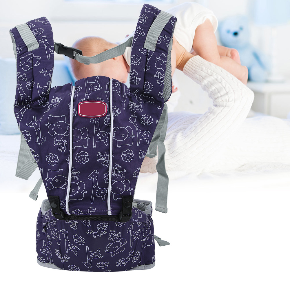 3-In-1-Baby-Safe-Hipseat-Kids-Safety-Carrier-Wrap-Infant-Sling-Backpack-3-Month thumbnail 18
