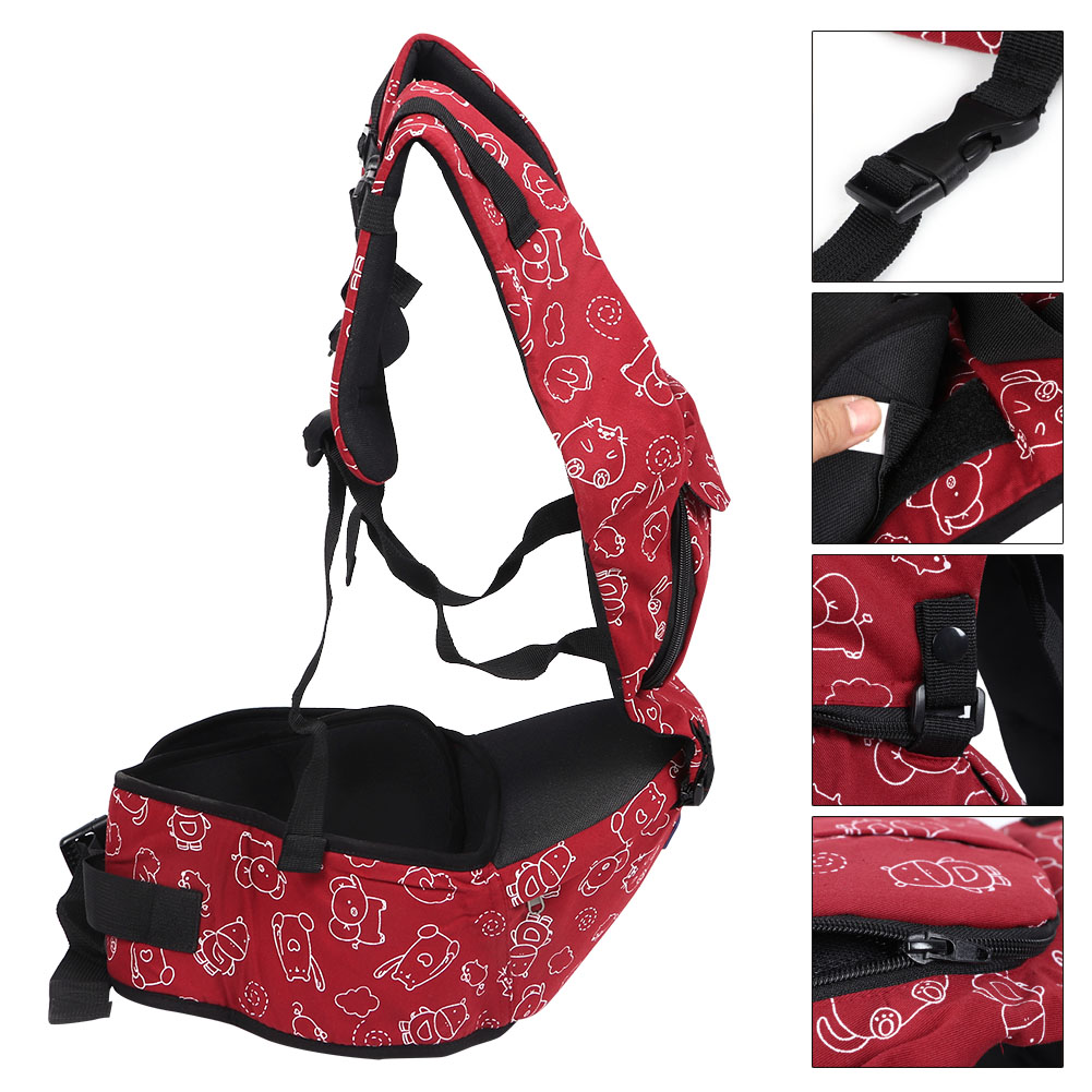 3-In-1-Baby-Safe-Hipseat-Kids-Safety-Carrier-Wrap-Infant-Sling-Backpack-3-Month thumbnail 21