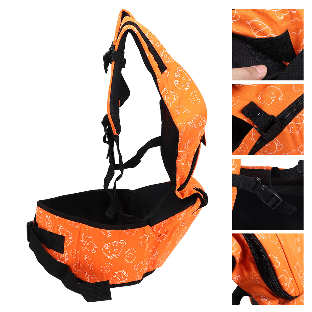 3-In-1-Baby-Safe-Hipseat-Kids-Safety-Carrier-Wrap-Infant-Sling-Backpack-3-Month thumbnail 24