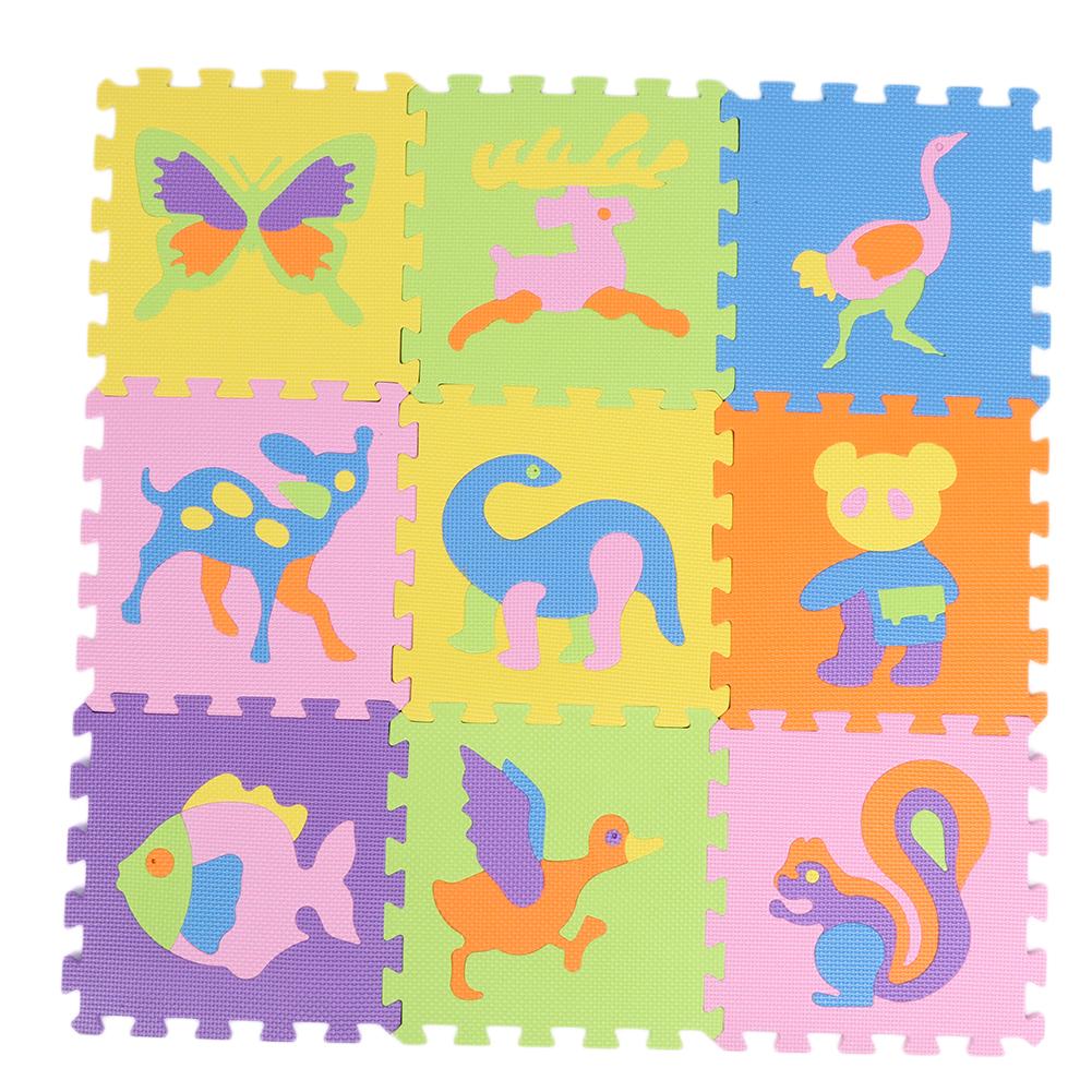 Funny-Foam-EVA-Interlocking-Floor-Play-Mat-Kids-Gym-Yoga-Exercise-Pad-Medium miniature 8
