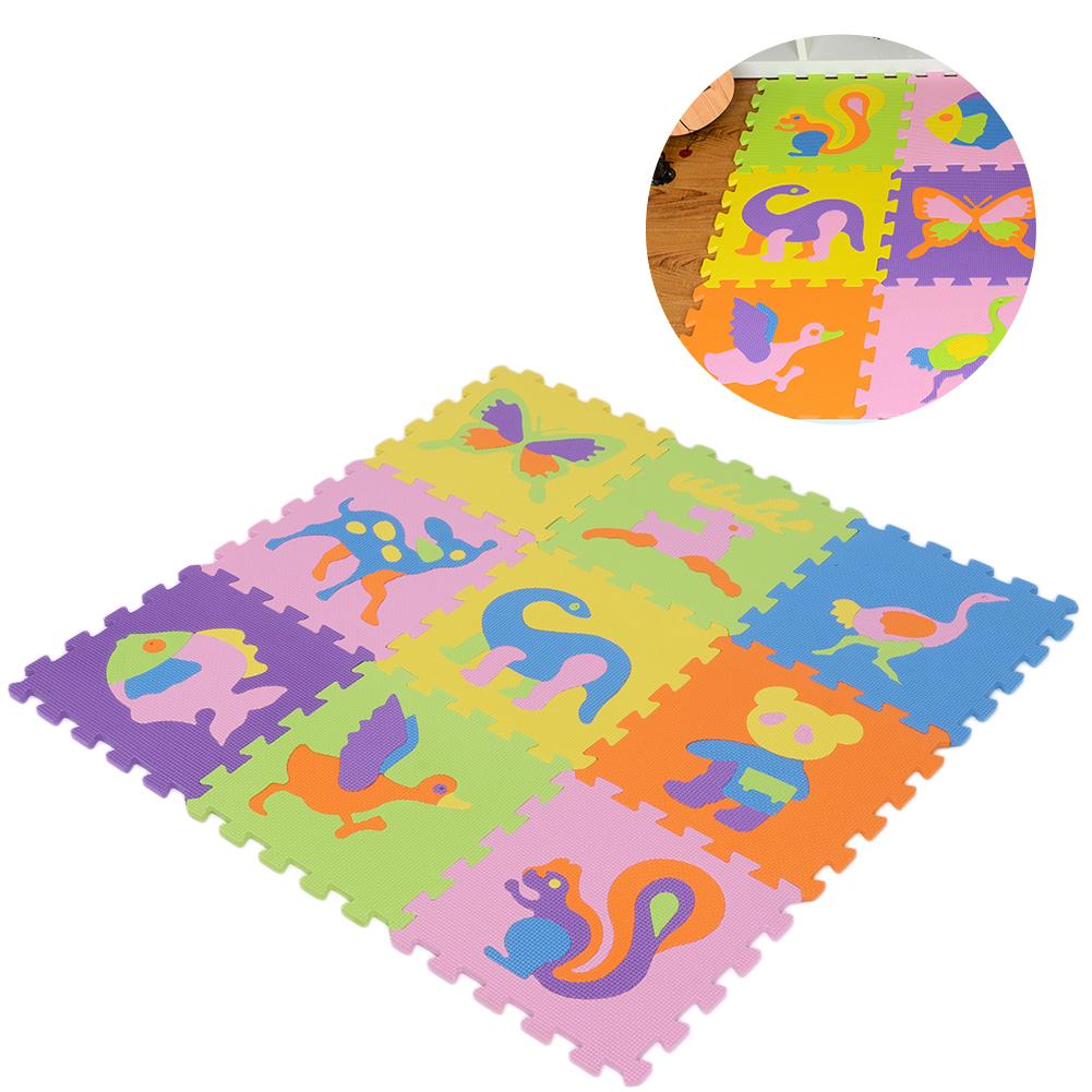 Funny-Foam-EVA-Interlocking-Floor-Play-Mat-Kids-Gym-Yoga-Exercise-Pad-Medium miniature 9