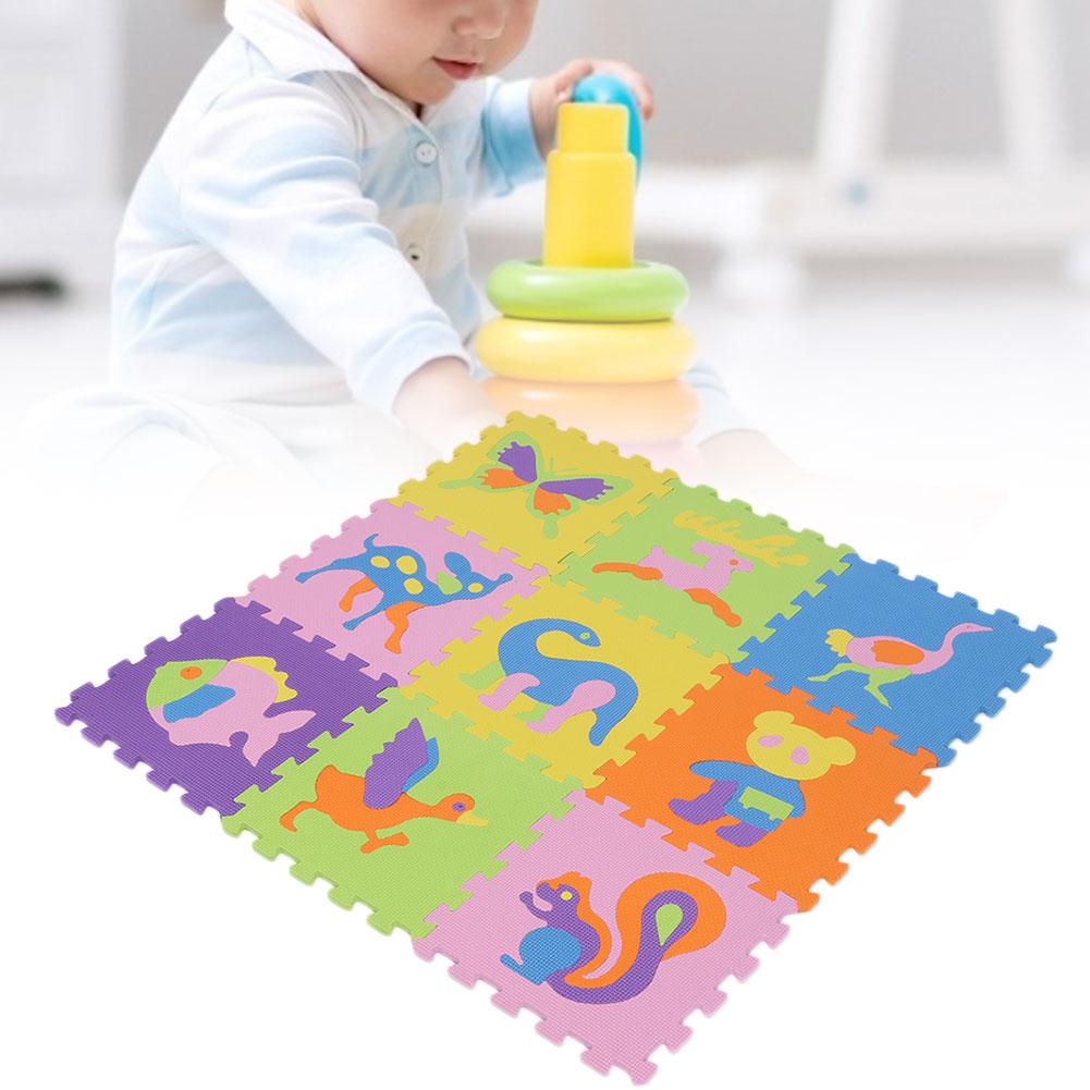 Funny-Foam-EVA-Interlocking-Floor-Play-Mat-Kids-Gym-Yoga-Exercise-Pad-Medium miniature 7