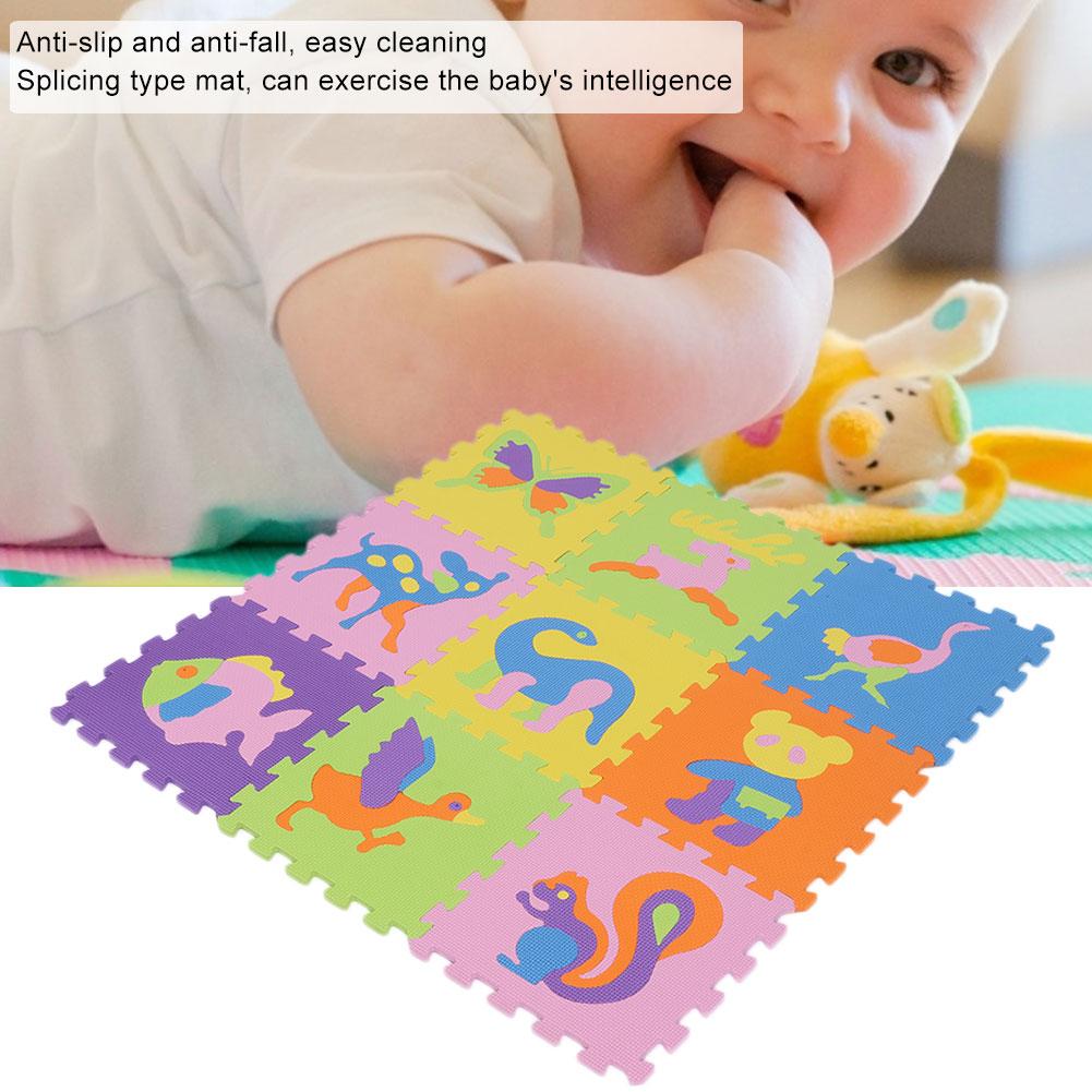 Funny-Foam-EVA-Interlocking-Floor-Play-Mat-Kids-Gym-Yoga-Exercise-Pad-Medium miniature 2