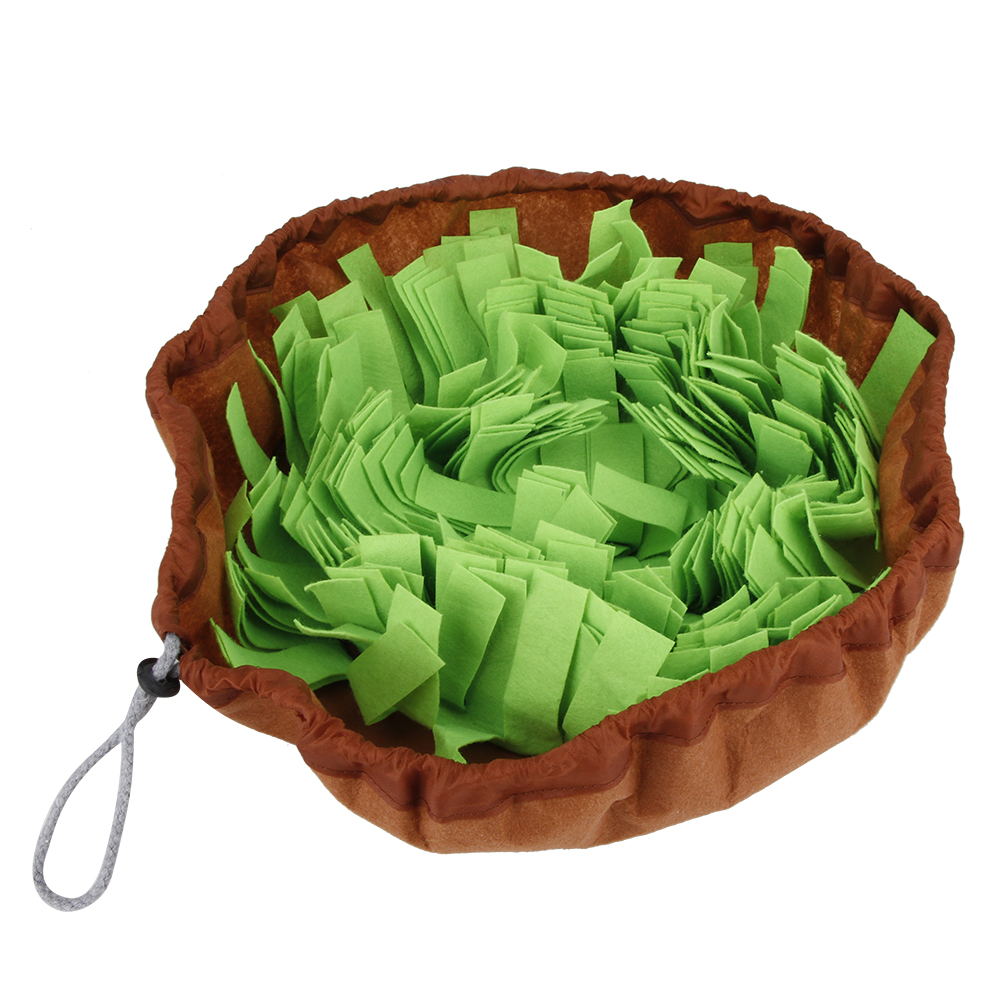 Pet-Training-Soft-Mat-Blanket-Dog-Nose-Sniff-Souptoys-Play-Biting-Toy-w-Buckle thumbnail 14
