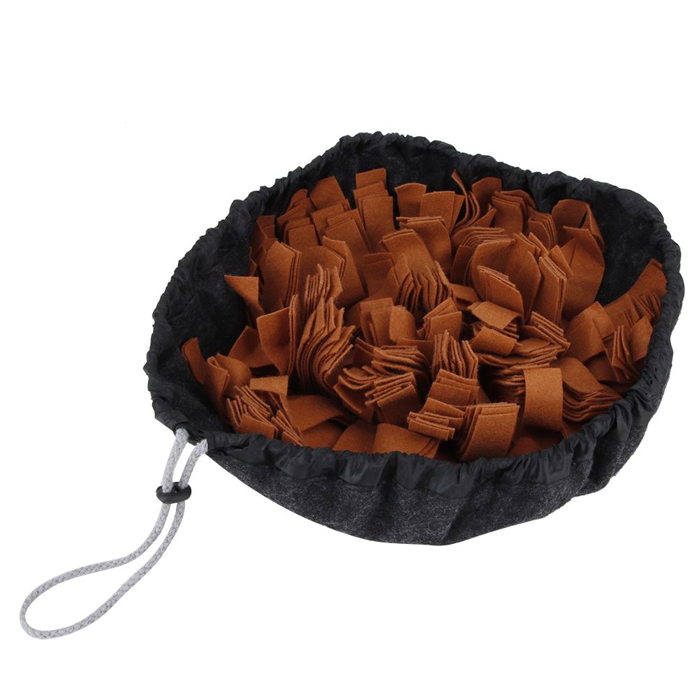 Pet-Training-Soft-Mat-Blanket-Dog-Nose-Sniff-Souptoys-Play-Biting-Toy-w-Buckle thumbnail 17