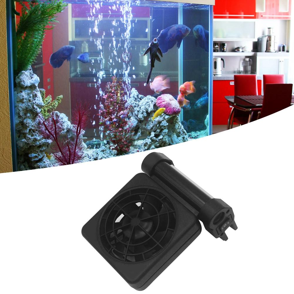 Acuario-Ventilador-de-refrigeracion-Tanque-de-peces-Enfriador-Controlador-de miniatura 14