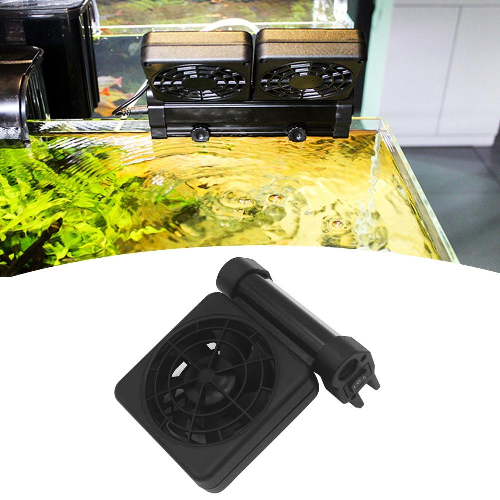 Acuario-Ventilador-de-refrigeracion-Tanque-de-peces-Enfriador-Controlador-de miniatura 15