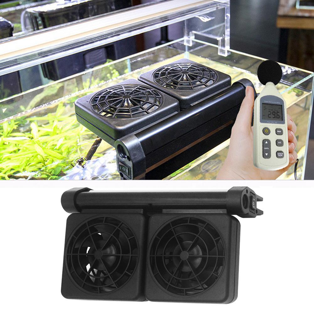 Acuario-Ventilador-de-refrigeracion-Tanque-de-peces-Enfriador-Controlador-de miniatura 17