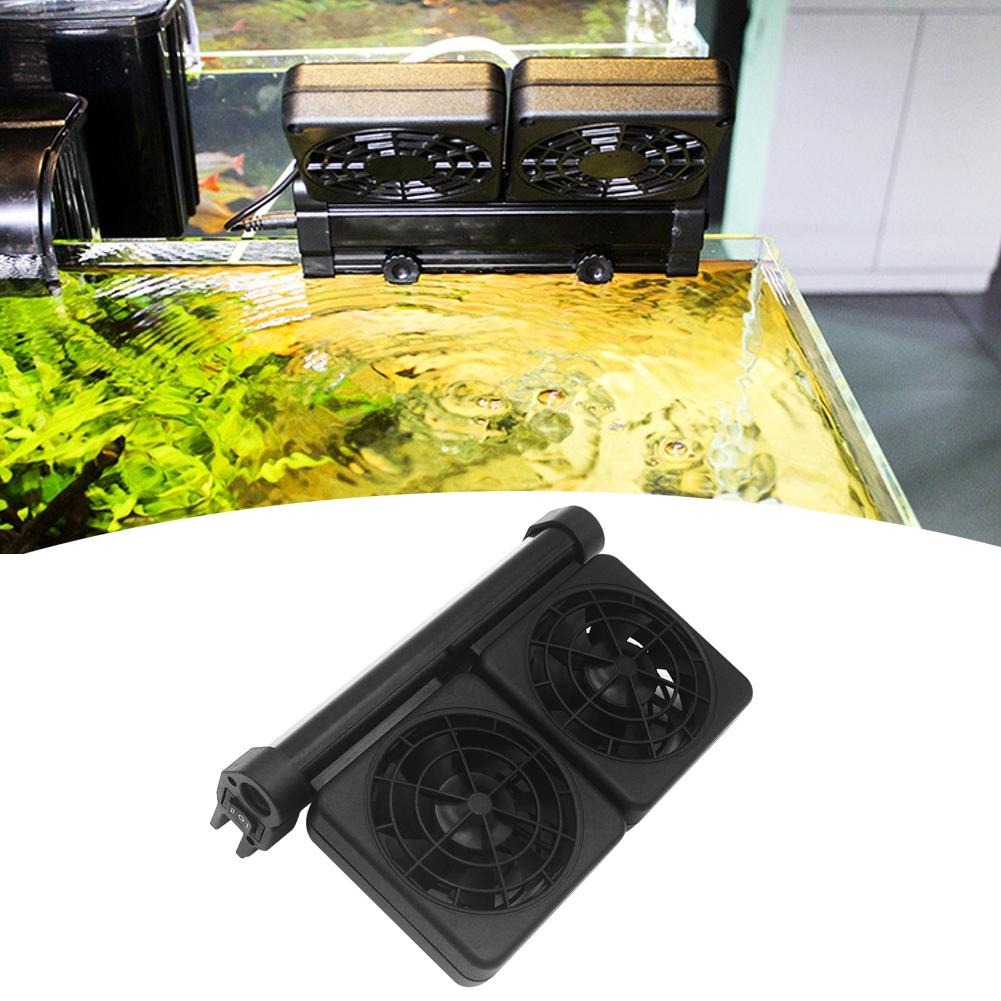 Acuario-Ventilador-de-refrigeracion-Tanque-de-peces-Enfriador-Controlador-de miniatura 18
