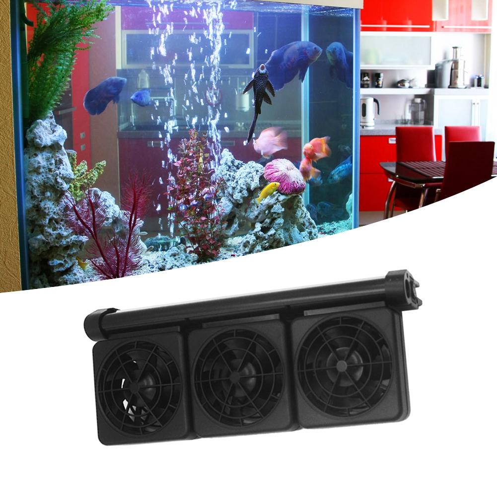 Acuario-Ventilador-de-refrigeracion-Tanque-de-peces-Enfriador-Controlador-de miniatura 20