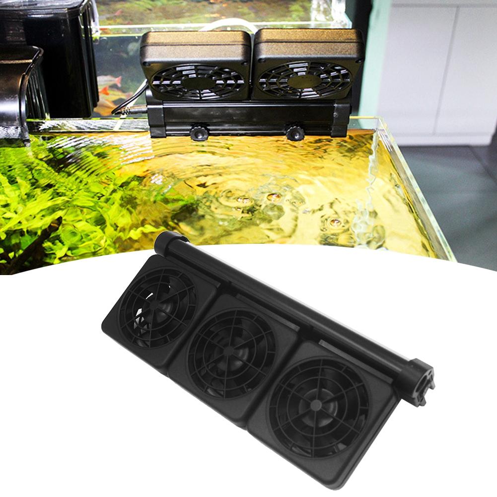 Acuario-Ventilador-de-refrigeracion-Tanque-de-peces-Enfriador-Controlador-de miniatura 21