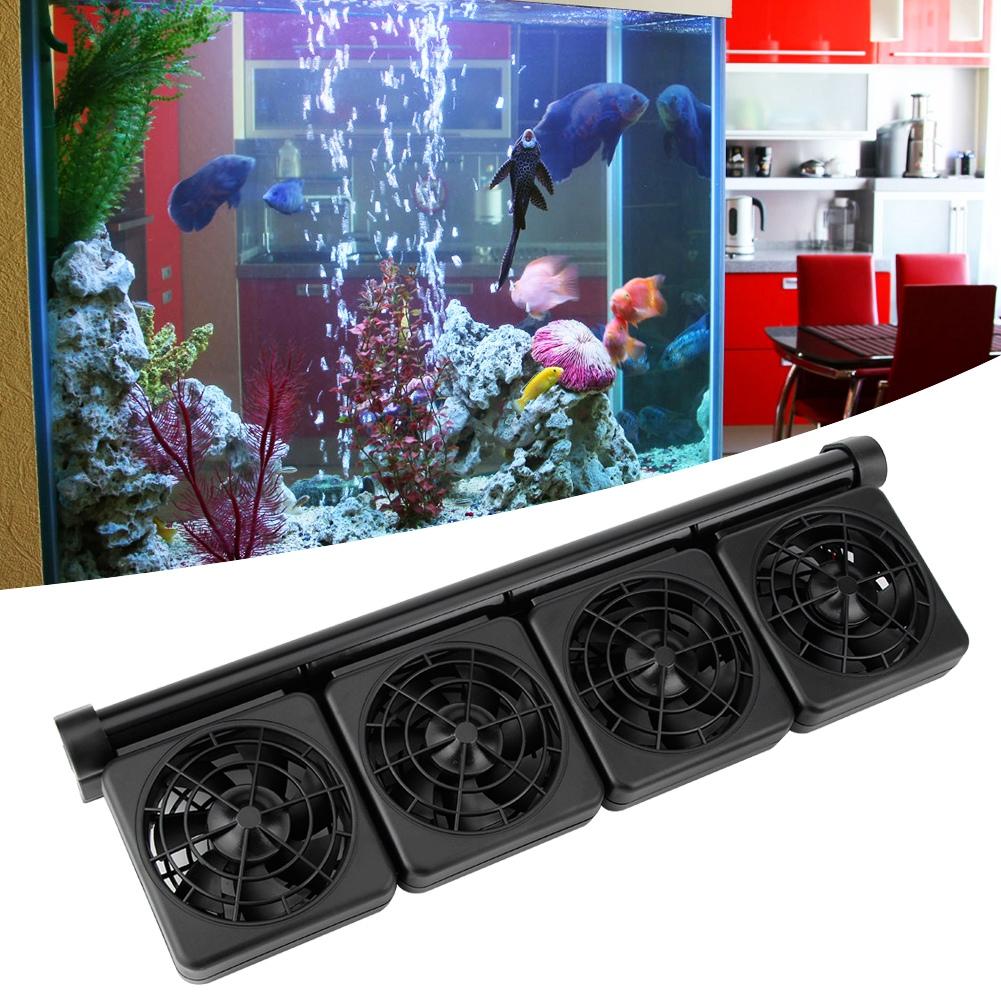 Acuario-Ventilador-de-refrigeracion-Tanque-de-peces-Enfriador-Controlador-de miniatura 23