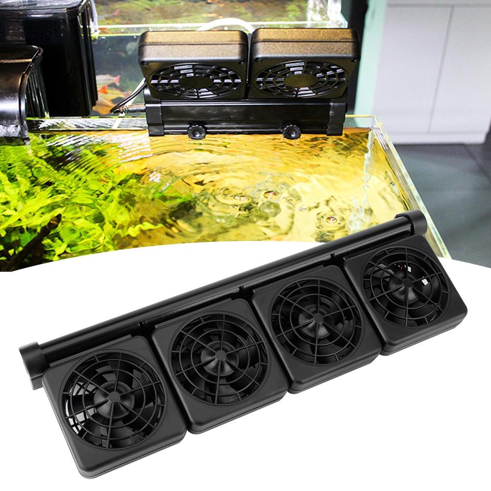 Acuario-Ventilador-de-refrigeracion-Tanque-de-peces-Enfriador-Controlador-de miniatura 24