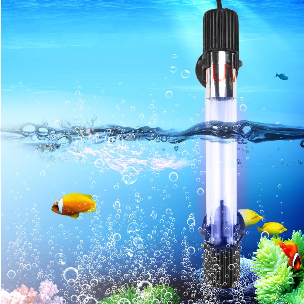 6-Tipo-Acuario-Pez-UV-Lampara-Esterilizador-Luces-Tratamiento-de-agua miniatura 30