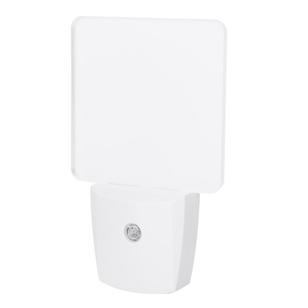 0-5W-Home-Plug-in-LED-Induction-Night-Light-Auto-Sensor-Bathroom-Lamp-110-240V thumbnail 30