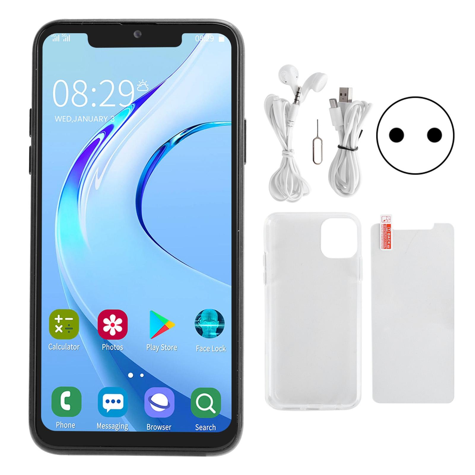 """miniature 13 - 6.5"""" Smartphone 1 Go 16 Go Mobile Phone Dual SIM avant arrière double caméra Android"""
