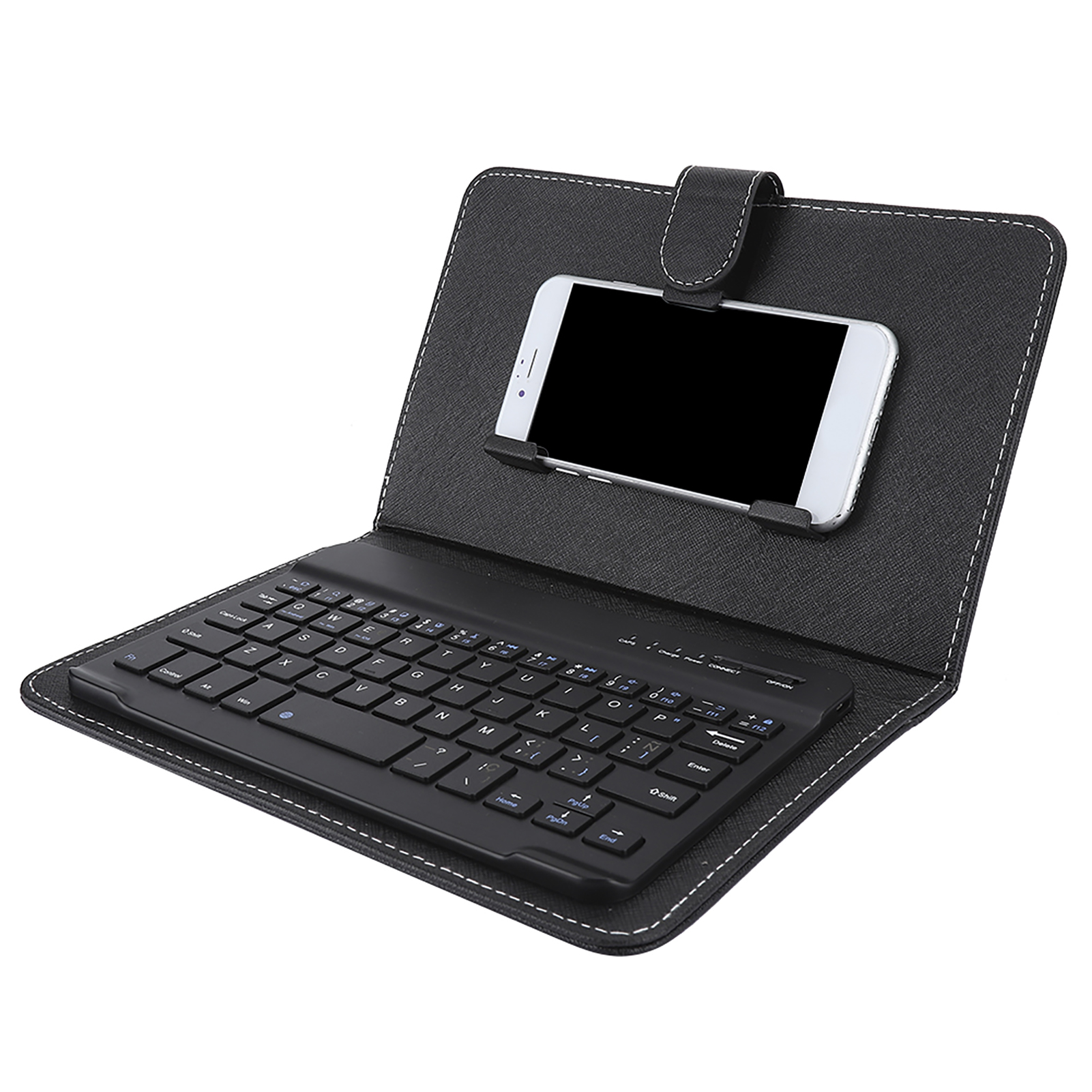 Mini-Wireless-Bluetooth-3-0-Keyboard-W-Leather-Cover-For-4-5-034-6-8-034-Android-iOS thumbnail 17