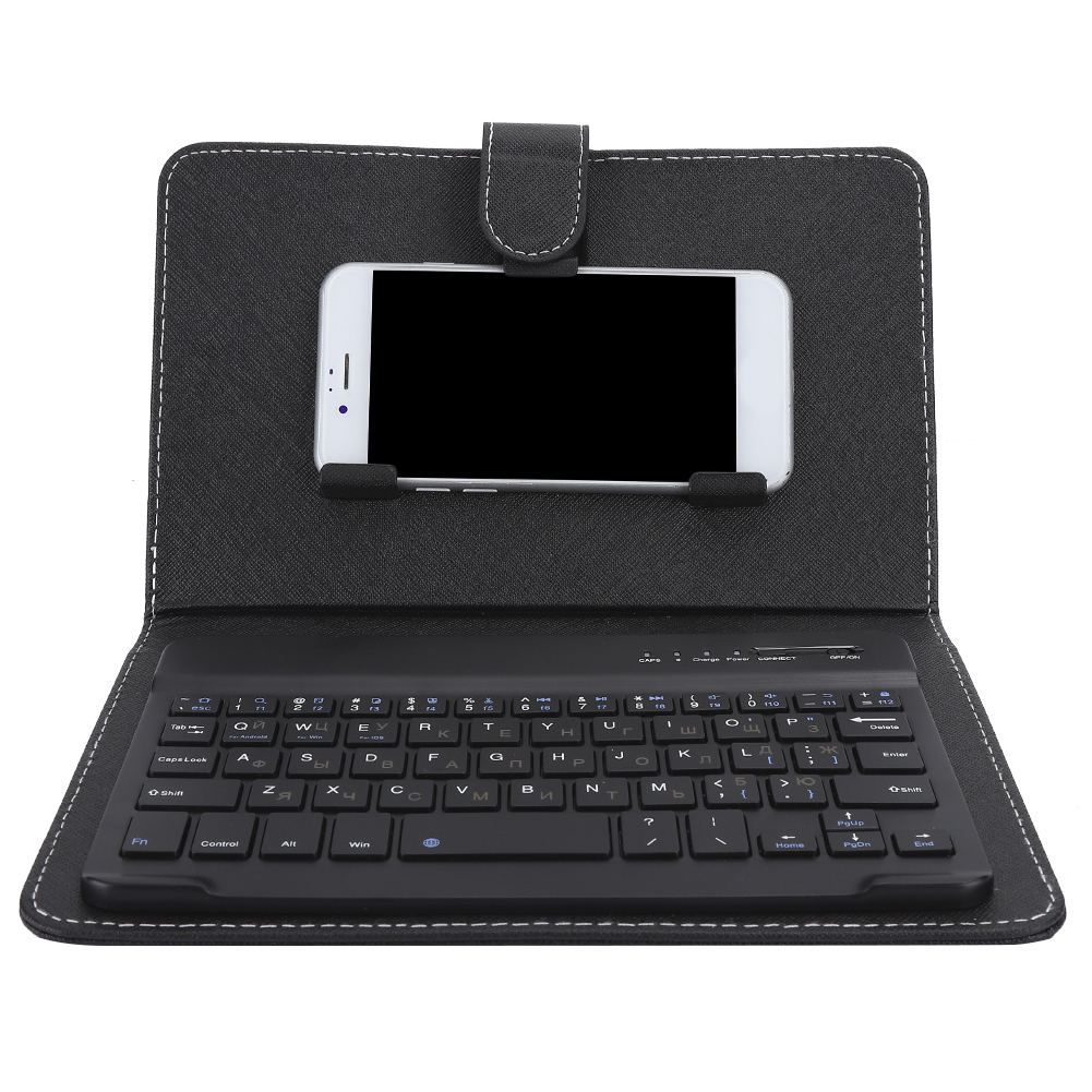 Mini-Wireless-Bluetooth-3-0-Keyboard-W-Leather-Cover-For-4-5-034-6-8-034-Android-iOS thumbnail 20
