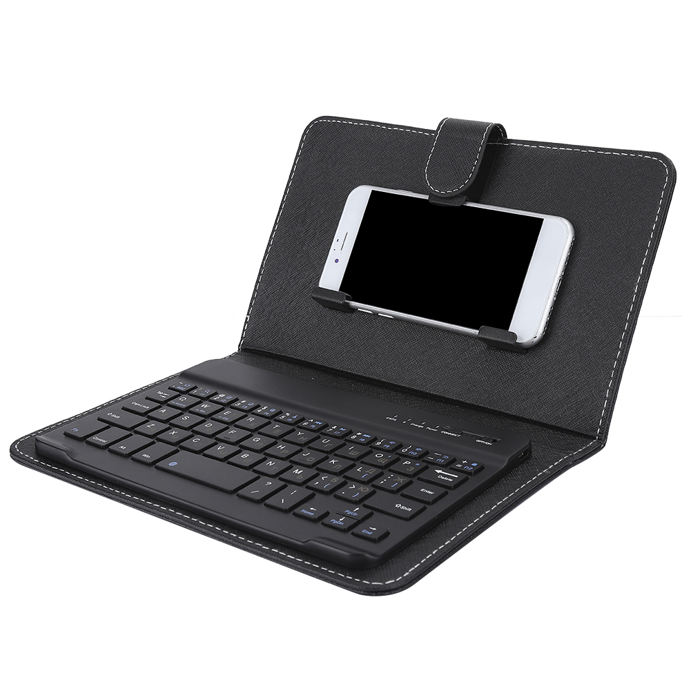 Mini-Wireless-Bluetooth-3-0-Keyboard-W-Leather-Cover-For-4-5-034-6-8-034-Android-iOS thumbnail 21