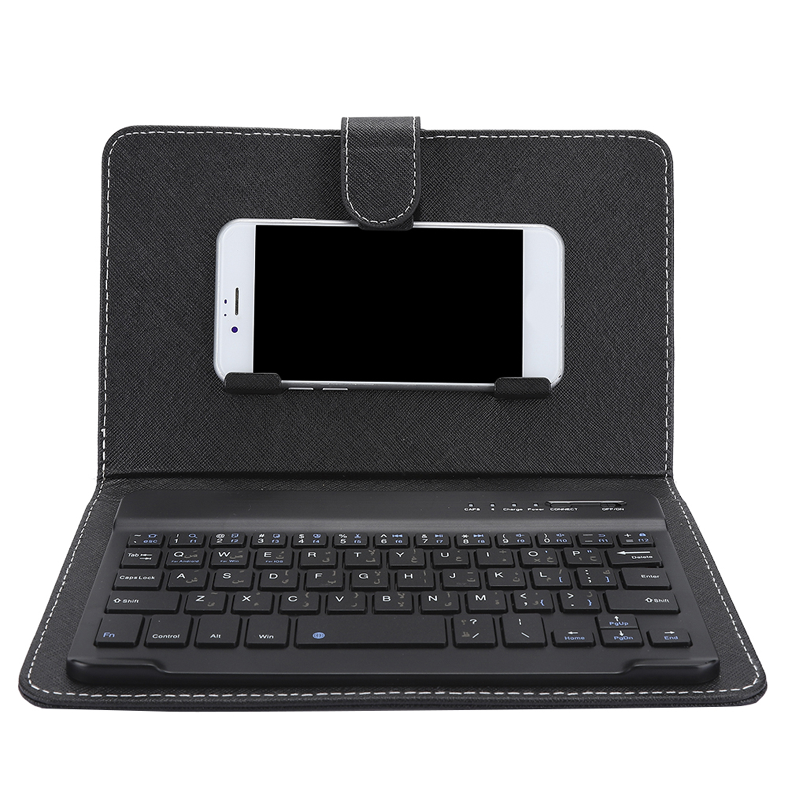Mini-Wireless-Bluetooth-3-0-Keyboard-W-Leather-Cover-For-4-5-034-6-8-034-Android-iOS thumbnail 23