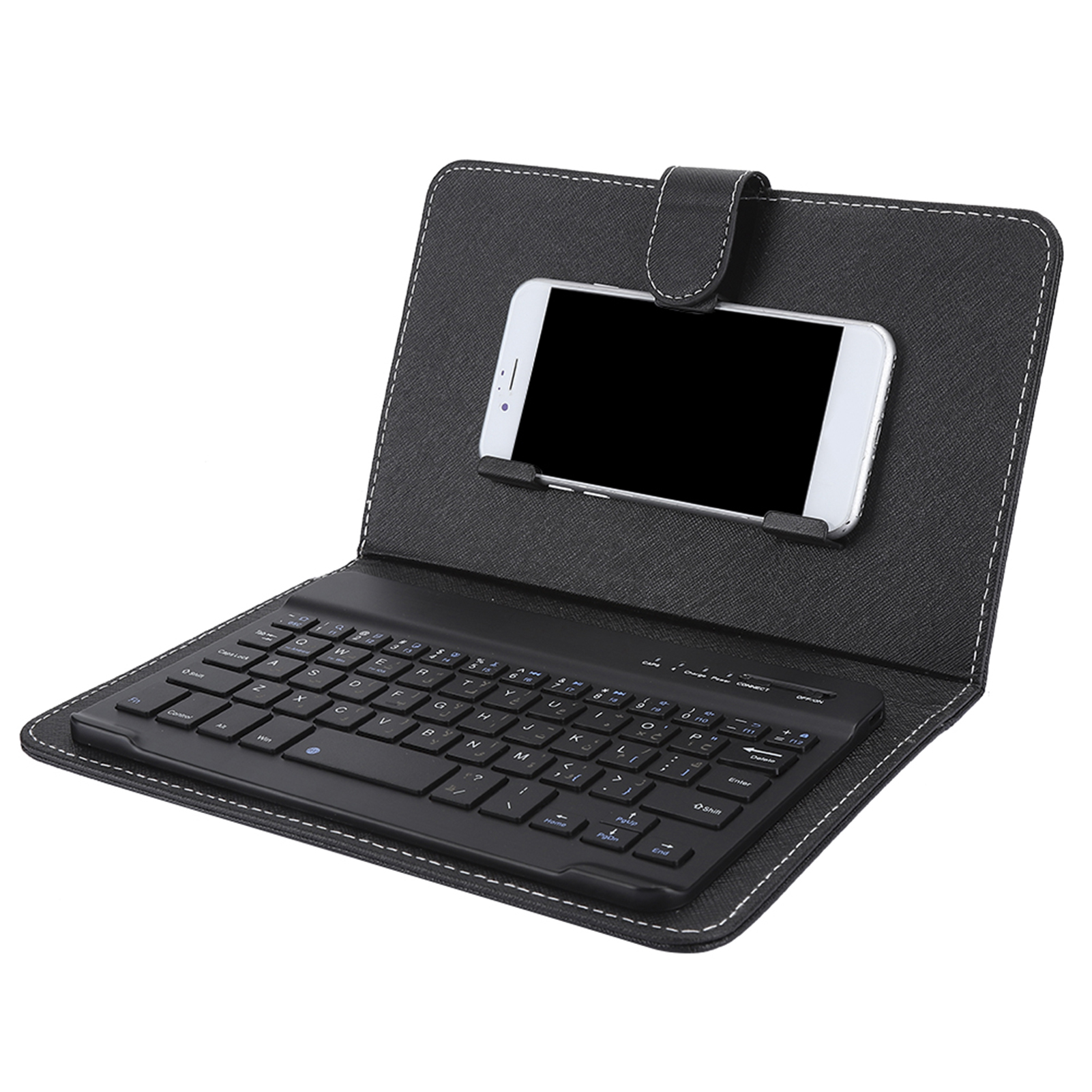 Mini-Wireless-Bluetooth-3-0-Keyboard-W-Leather-Cover-For-4-5-034-6-8-034-Android-iOS thumbnail 24