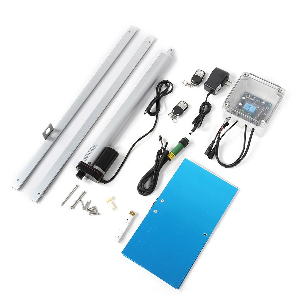 Kit-porta-controller-automatico-apriporta-per-pollo-sensore-di-luce-per miniatura 16