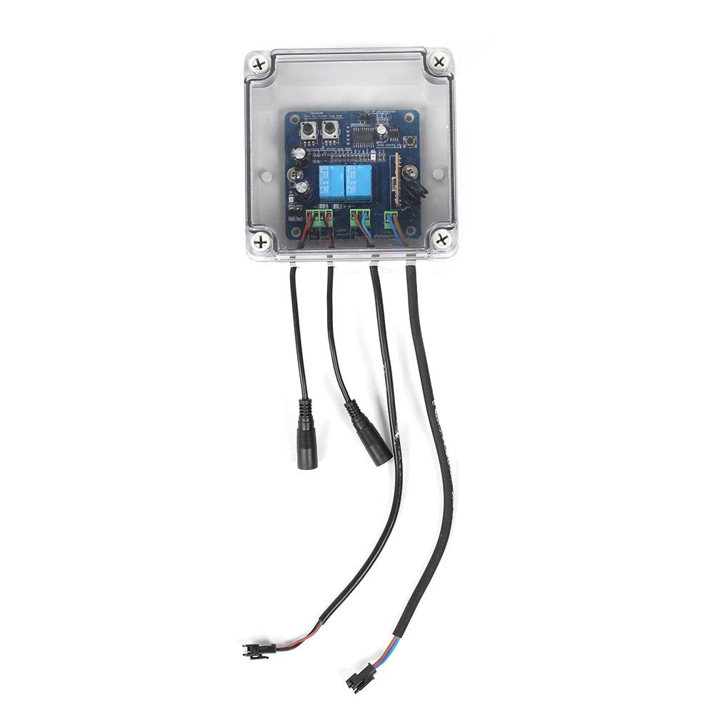 Kit-porta-controller-automatico-apriporta-per-pollo-sensore-di-luce-per miniatura 17