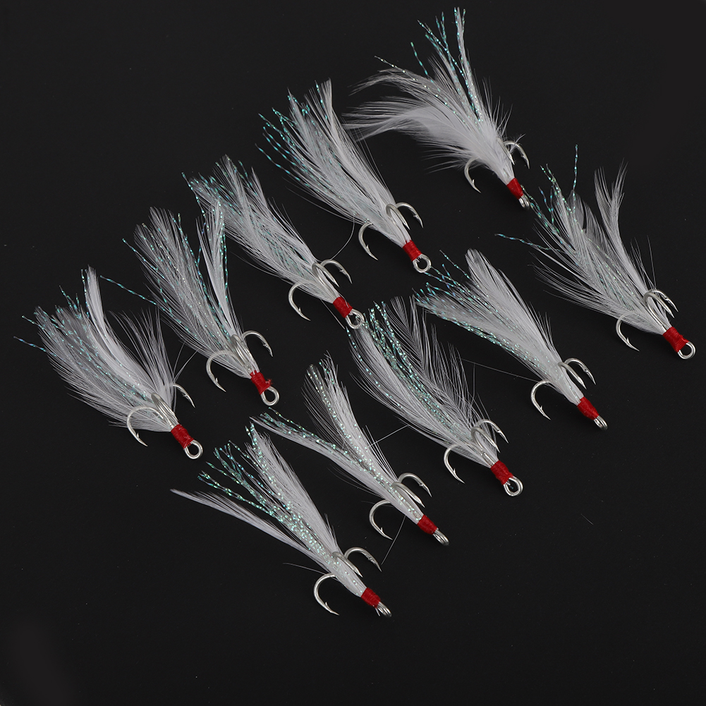 5-20Pcs-Sharp-Fishing-Hooks-Jig-Big-Hook-High-Carbon-Steel-Bait-Holder-Fishhooks thumbnail 36