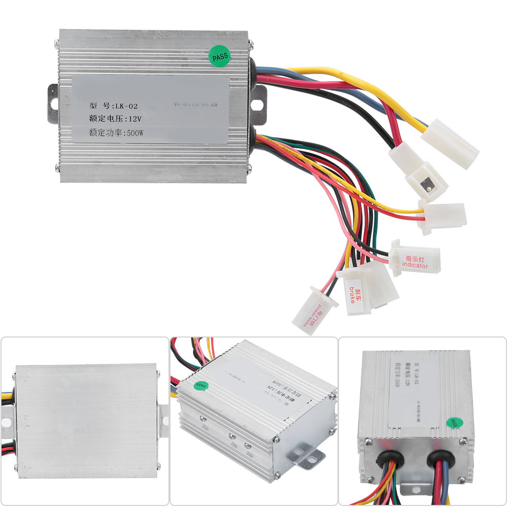 DC-12V-Motor-Brushed-Speed-Controller-Throttle-Grip-For-Electric-Bicycle-Scooter thumbnail 14