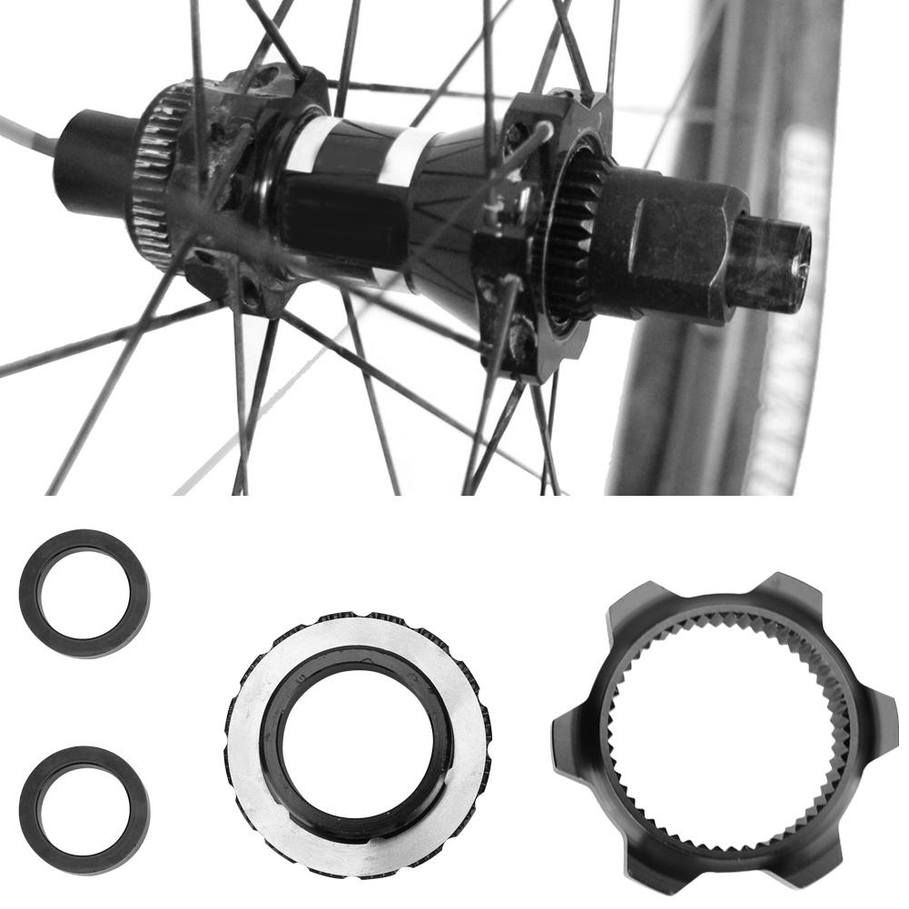 Mountain Bike Bicycle Disc Brake Center Lock Lockring Adapter Accessories Metal