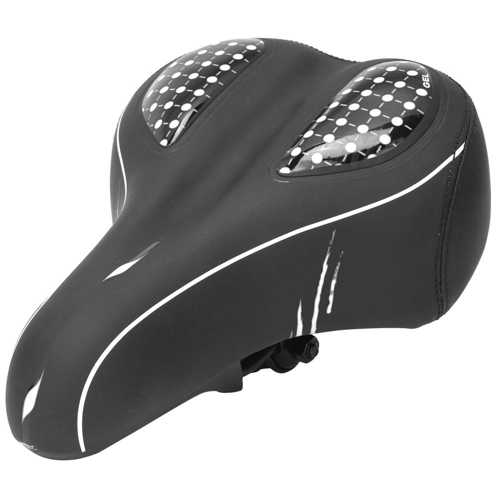 Waterproof Comfort Wide Big Bum Bike Bicycle Extra Soft Pad Saddle Seat