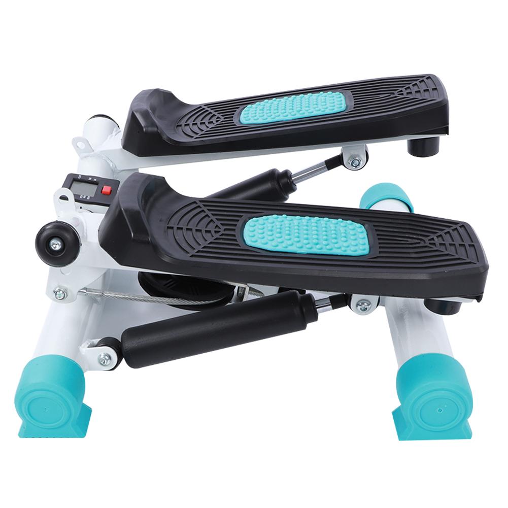 Le Corps pour la Maison Le Fitness /Écran LCD Corde /élastique Les Jambes Les Bras et Les Cuisses lahomie Stepper d/'Exercice Ultra Silencieux Supporte jusqu/à 100 kg avec Rampe