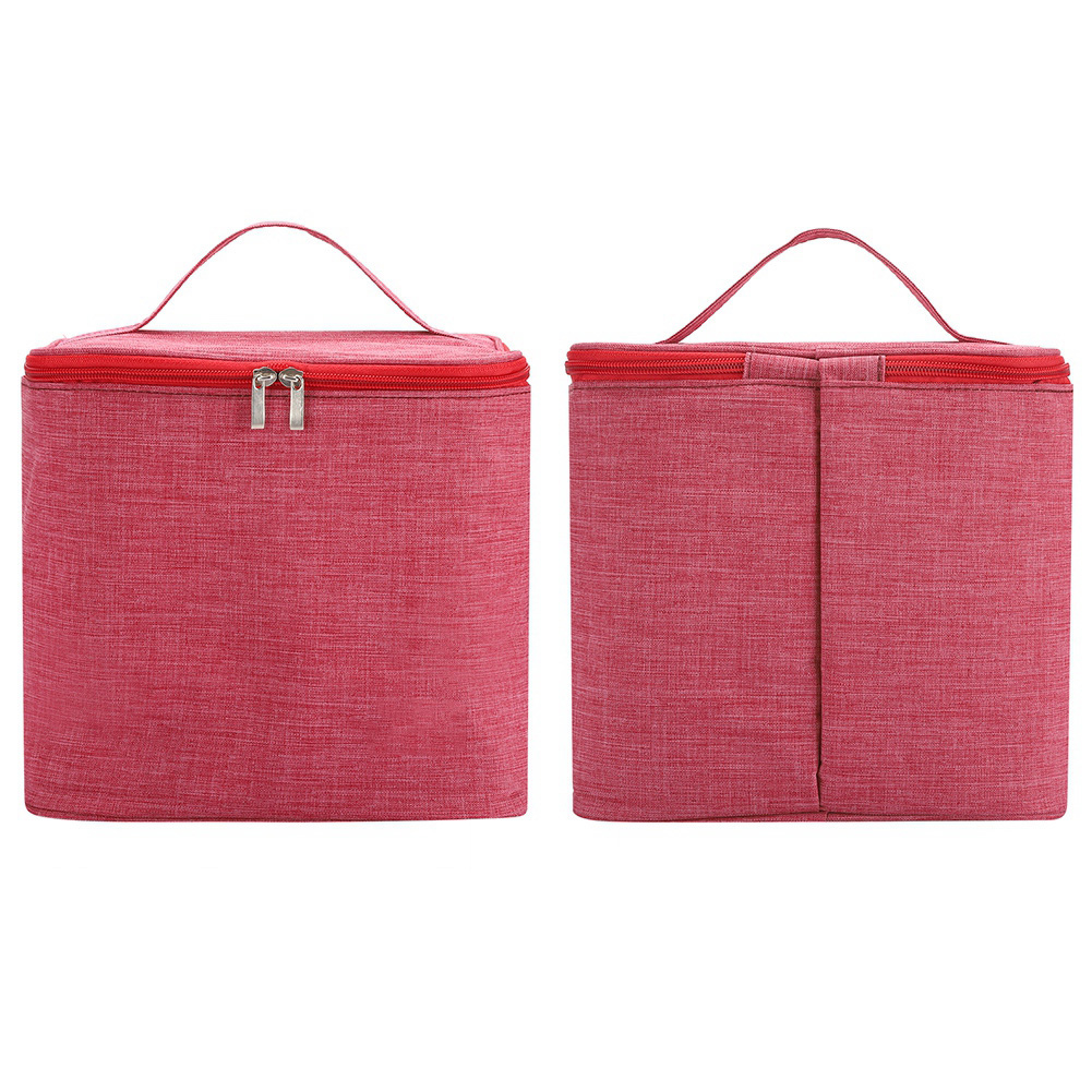 Portable-Lunch-Bag-Insulated-Thermal-Bags-Outdoor-Picnic-Travel-Food-Box-Bag thumbnail 39