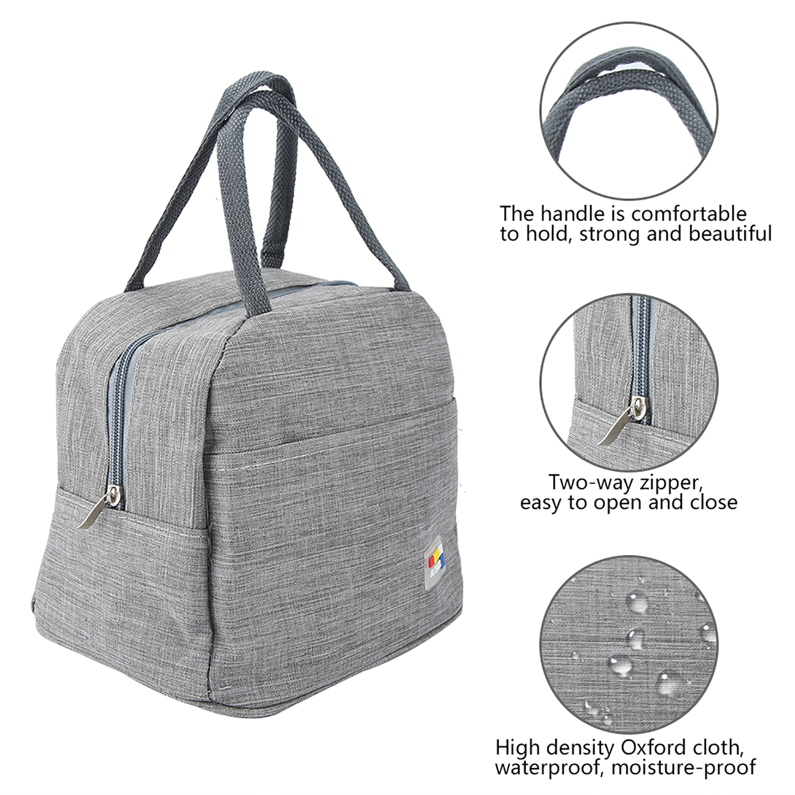 Portable-Lunch-Bag-Insulated-Thermal-Bags-Outdoor-Picnic-Travel-Food-Box-Bag thumbnail 33