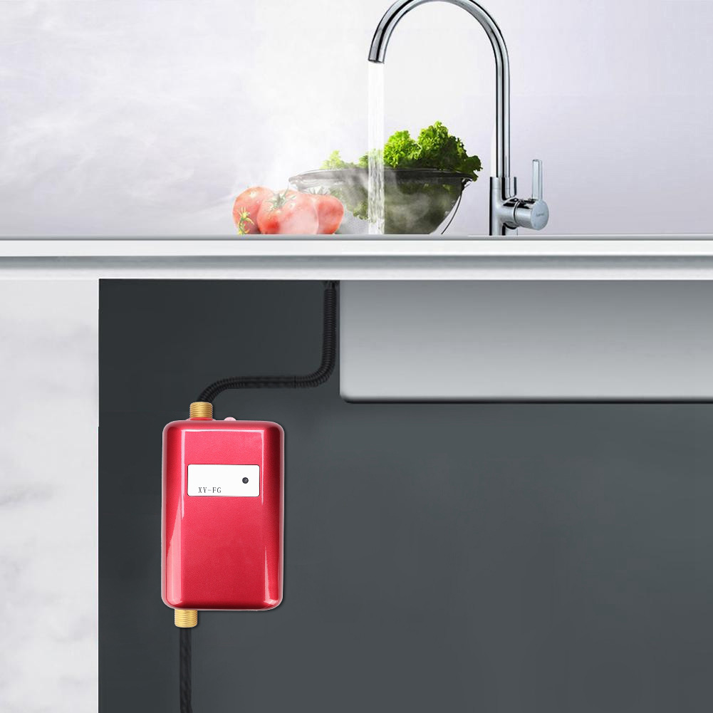 Electric Tankless Instant Hot Water Heater Under Sink Tap ...