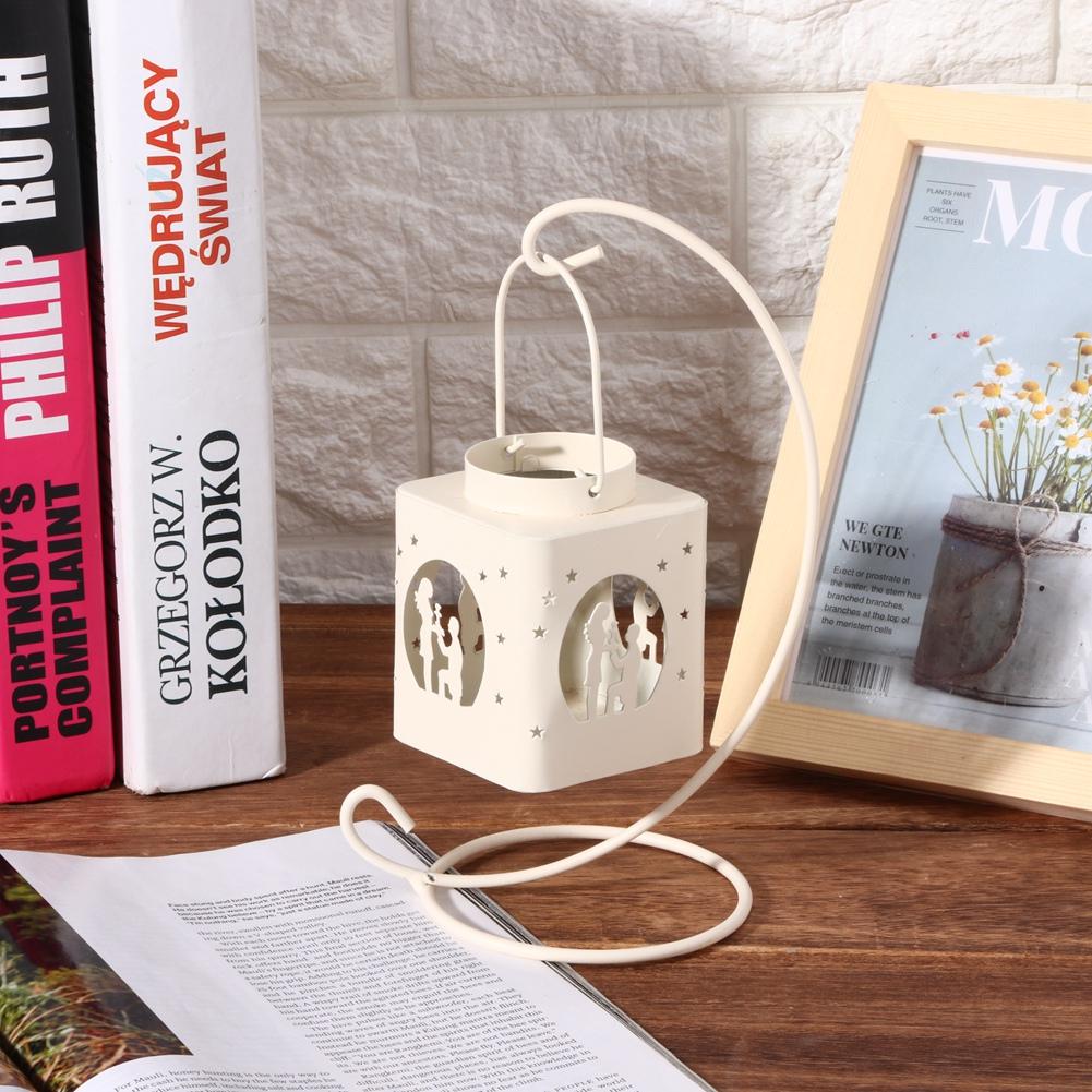 1-Piece-Moderne-Creux-Out-Bougeoir-Articles-Chandelier-Suspendu-Lanterne-Decor miniature 15