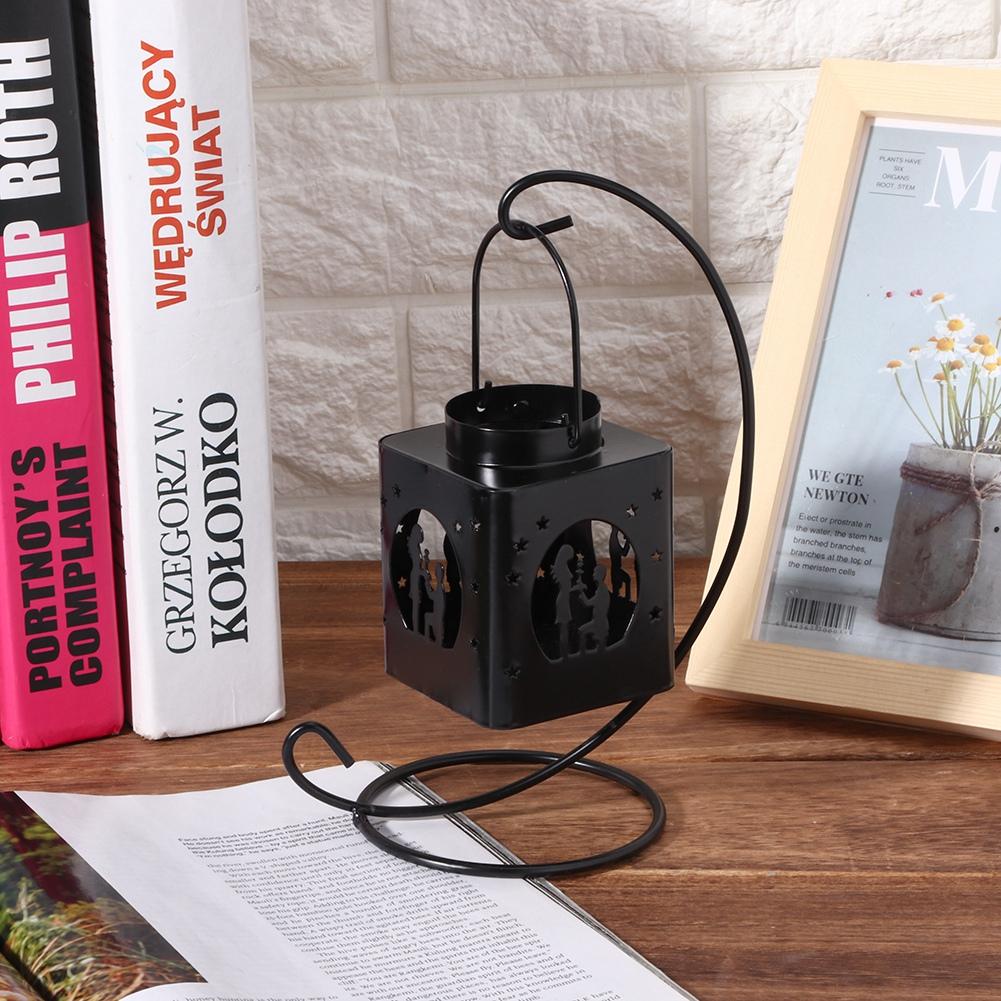 1-Piece-Moderne-Creux-Out-Bougeoir-Articles-Chandelier-Suspendu-Lanterne-Decor miniature 18