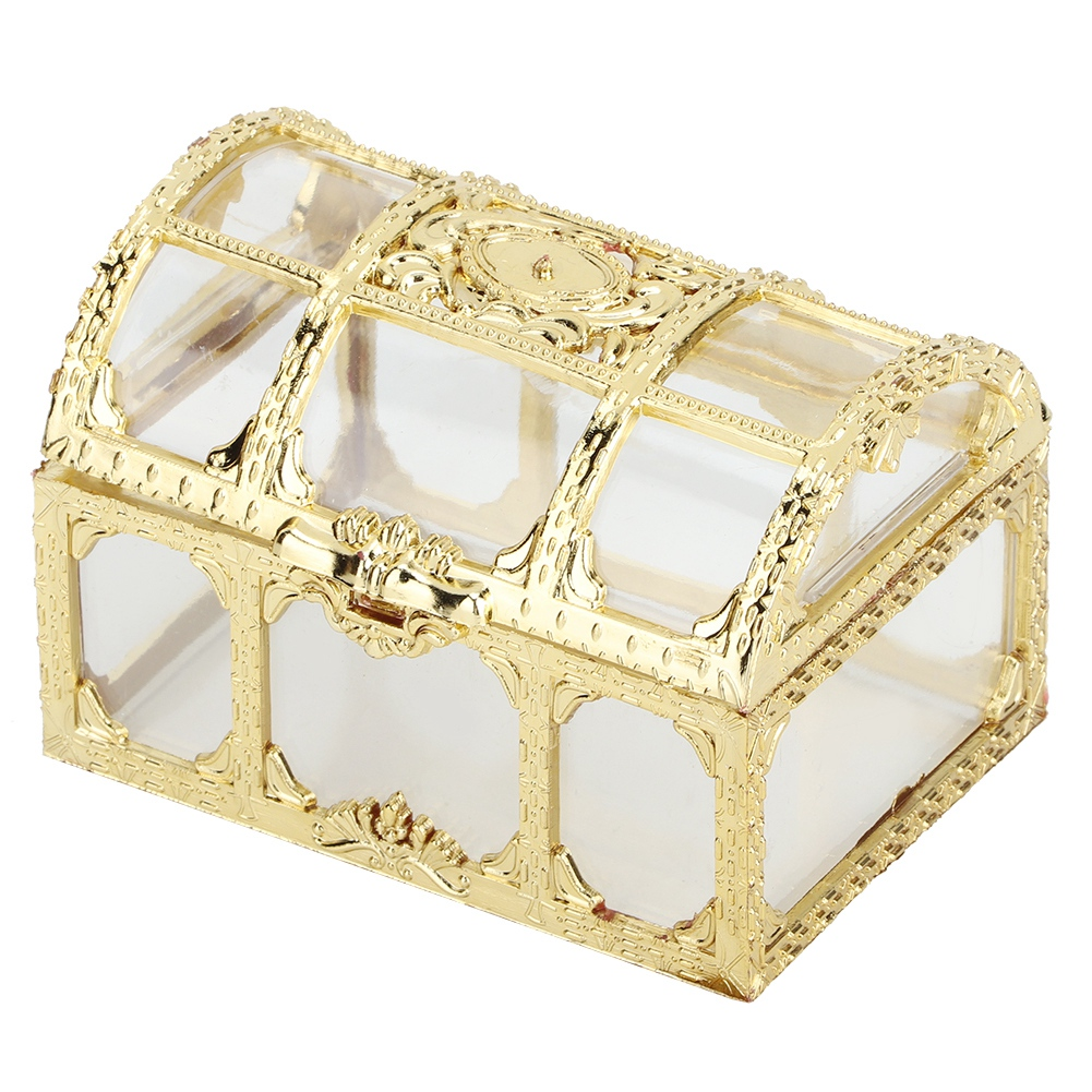 12pcs Treasure Chest Wedding Favour Favor Sweet Cake Gift Candy Boxes Anniversar