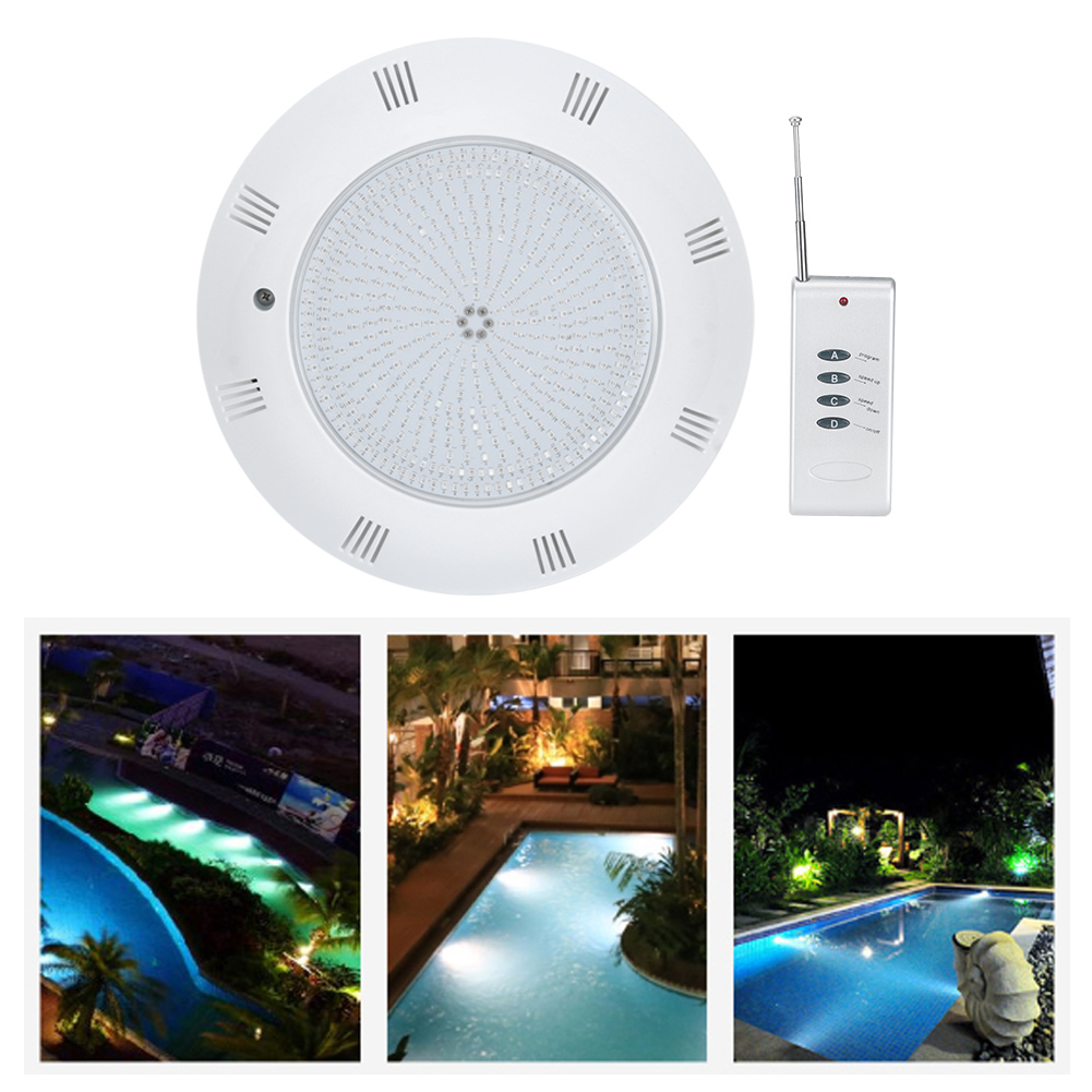 thumbnail 18 - Swimming Pool Wall Light Colorful Remote Control Underwater Lights AC 12V 18-45W