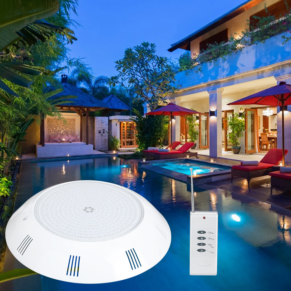 thumbnail 17 - Swimming Pool Wall Light Colorful Remote Control Underwater Lights AC 12V 18-45W
