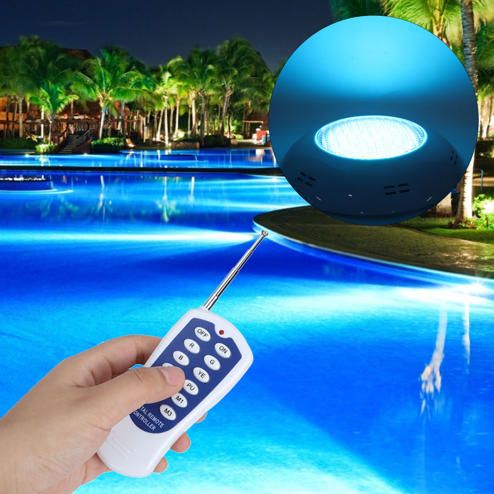 thumbnail 25 - Swimming Pool Wall Light Colorful Remote Control Underwater Lights AC 12V 18-45W