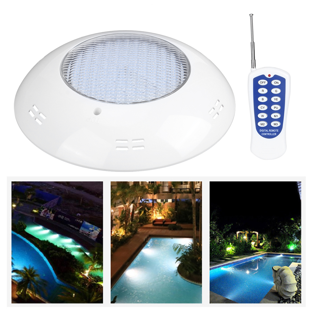 thumbnail 30 - Swimming Pool Wall Light Colorful Remote Control Underwater Lights AC 12V 18-45W