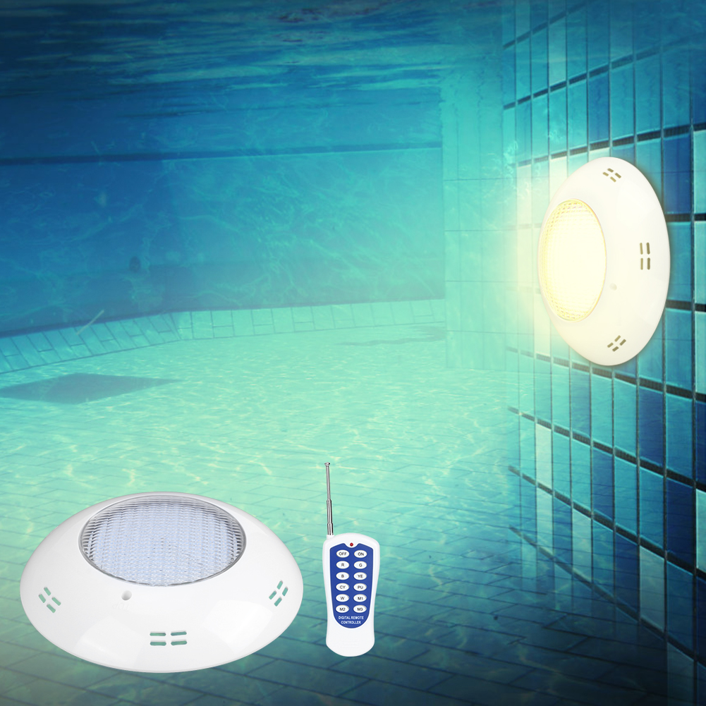thumbnail 27 - Swimming Pool Wall Light Colorful Remote Control Underwater Lights AC 12V 18-45W